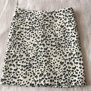 Printed Loft pencil skirt